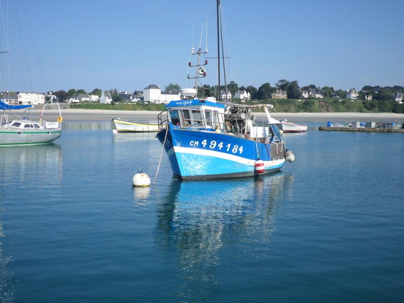 Bateau de pêche Morgat