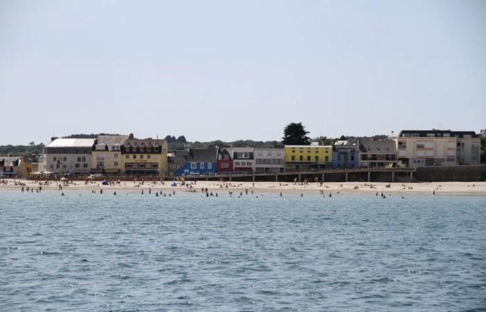 Boulevard de la plage Morgat